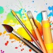 iPhone、iPadアプリ「ドローイング デスク: 落書き・お絵描き・お絵かき アプリ」のアイコン
