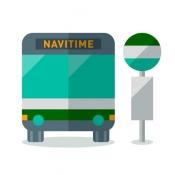 iPhone、iPadアプリ「バスNAVITIME バス&時刻表&乗り換え」のアイコン