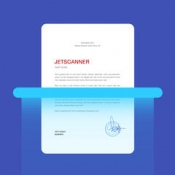 iPhone、iPadアプリ「JetScanner: Camera to PDF, scan image documents」のアイコン
