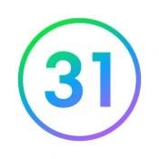 iPhone、iPadアプリ「Naver カレンダー」のアイコン