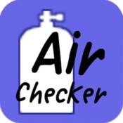 iPhone、iPadアプリ「エア消費チェッカー for ダイビング」のアイコン