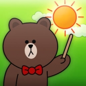 iPhone、iPadアプリ「LINE 天気」のアイコン