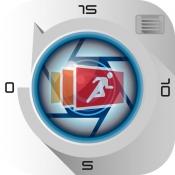 iPhone、iPadアプリ「さかのぼり連写カメラ」のアイコン