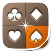 iPhone、iPadアプリ「▻カード - 3つのソルティアパズルゲームがひとつのアプリに」のアイコン