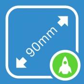 iPhone、iPadアプリ「測定アプリ My Measures + AR Measure」のアイコン
