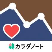 iPhone、iPadアプリ「血圧ノート-血圧変化をスマホで記録!グラフ化も簡単-」のアイコン
