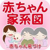 iPhone、iPadアプリ「赤ちゃん家系図 - 家族・子どもの成長記録」のアイコン