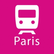 iPhone、iPadアプリ「パリ路線図」のアイコン