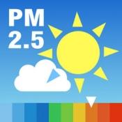iPhone、iPadアプリ「PM2.5と黄砂の予測 大気汚染予報」のアイコン