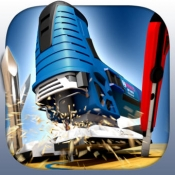 iPhone、iPadアプリ「Dust Fighter – Saw as accurately as you can!」のアイコン