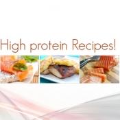iPhone、iPadアプリ「高タンパク質レシピ」のアイコン