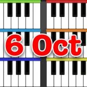 iPhone、iPadアプリ「6オクターブ ピアノ」のアイコン