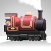 iPhone、iPadアプリ「Pocket Trains - Railroad Empire Building」のアイコン