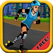 iPhone、iPadアプリ「A Roller Derby Candy Dash - Free Downhill Racing Game」のアイコン