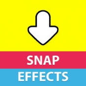 iPhone、iPadアプリ「Snap Effects & Filters - Save Dog + Emoji Face Swap Pics for Snapchat!」のアイコン