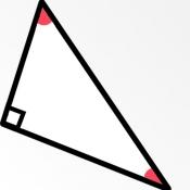 iPhone、iPadアプリ「角度と長さを自動計算」のアイコン