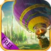 iPhone、iPadアプリ「オズフライングファンタジー - グレートレースゲーム魔法の熱気球で」のアイコン