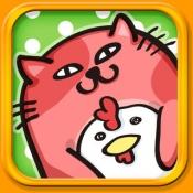iPhone、iPadアプリ「なぞってネコちゃん!」のアイコン