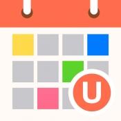 iPhone、iPadアプリ「Ucカレンダー - シンプルで見やすい人気のスケジュール帳」のアイコン