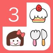 iPhone、iPadアプリ「stampカレンダー For Girls+」のアイコン