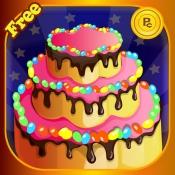 iPhone、iPadアプリ「アイスクリームケーキメーカー - 特別ラブ&バースデーケーキを作る」のアイコン