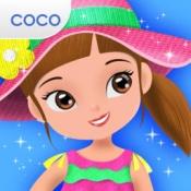 iPhone、iPadアプリ「Cocoはドレスを画く」のアイコン