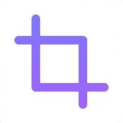 iPhone、iPadアプリ「Instacrop - ポストフルサイズの写真をトリミングなしInstagramのために」のアイコン