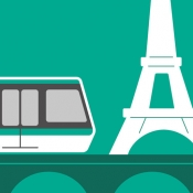 iPhone、iPadアプリ「Next Stop Paris – RATP」のアイコン