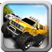 iPhone、iPadアプリ「A Super Monster Truck Racing 3D- Free Real Multiplayer Offroad Race Game」のアイコン