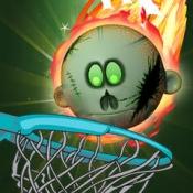 iPhone、iPadアプリ「ゾンビのヘッドフープバスケットボール」のアイコン