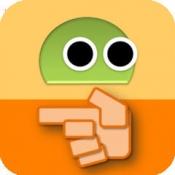 iPhone、iPadアプリ「あっちむいてロボ FREE」のアイコン