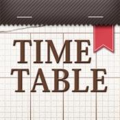 iPhone、iPadアプリ「きせかえ時間割」のアイコン
