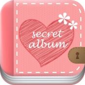 iPhone、iPadアプリ「ヒミツのアルバム」のアイコン