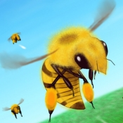 iPhone、iPadアプリ「BeeCluster - 無料の縦スクロールシューティングゲーム」のアイコン