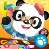 iPhone、iPadアプリ「Dr. Pandaの図工教室」のアイコン