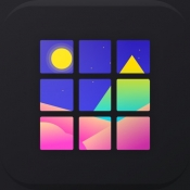 iPhone、iPadアプリ「Grids - Giant Square Maker」のアイコン