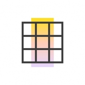 iPhone、iPadアプリ「Grids: Story & Grid Photo Post」のアイコン