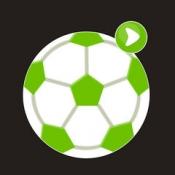 iPhone、iPadアプリ「サッカーライブHD」のアイコン