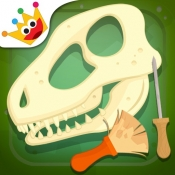 iPhone、iPadアプリ「考古学者 - 恐竜ゲーム」のアイコン