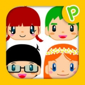 iPhone、iPadアプリ「どこかな?幼児子供向け知育マッチングアプリ」のアイコン