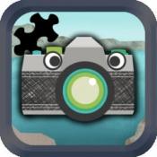 iPhone、iPadアプリ「子供向けのパズルメーカー:写真を使ってジグソーパズルを作る。」のアイコン