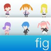 iPhone、iPadアプリ「フィギュアが360°みれる フィギュコレ」のアイコン