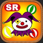 """iPhone、iPadアプリ「ハッピーピエロ ゲームセンターでよく見るあのレトロ玉転しゲーム""""はっぴーぴえろ""""が無料ゲームアプリに」のアイコン"""