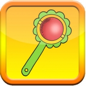 iPhone、iPadアプリ「伝統的な赤ちゃんのガラガラ」のアイコン