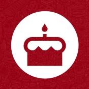 iPhone、iPadアプリ「誕生日カード」のアイコン