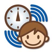 iPhone、iPadアプリ「こどもネットタイマー」のアイコン