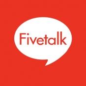 iPhone、iPadアプリ「お絵かきチャット&通話 Fivetalk(ファイブトーク)」のアイコン