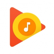 iPhone、iPadアプリ「Google Play Music」のアイコン
