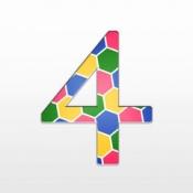 iPhone、iPadアプリ「FourColor : 四色問題パズル」のアイコン