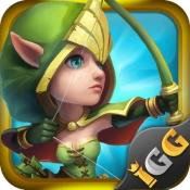 iPhone、iPadアプリ「Castle Clash:頂上決戦」のアイコン